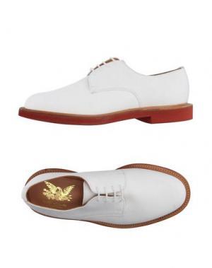 Обувь на шнурках MARK MCNAIRY. Цвет: белый
