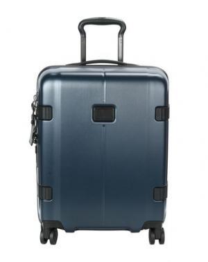 Чемодан/сумка на колесиках TUMI. Цвет: темно-синий