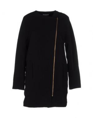 Легкое пальто MISERICORDIA. Цвет: черный