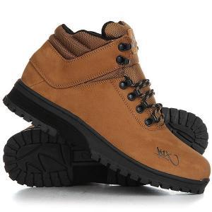 Ботинки высокие  H1ke Territory Dark Honey/Black K1X. Цвет: коричневый