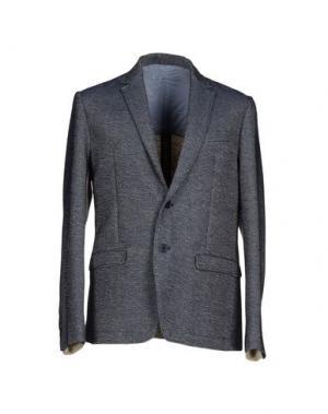 Пиджак DAVID NAMAN. Цвет: свинцово-серый