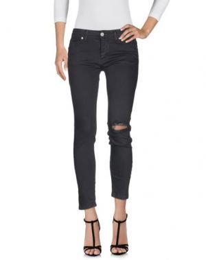 Джинсовые брюки UFFICIO 87. Цвет: серый