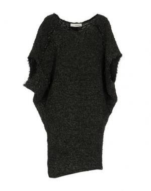 Короткое платье UN-NAMABLE. Цвет: свинцово-серый