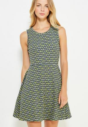 Платье Твое. Цвет: зеленый