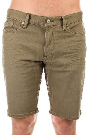 Шорты джинсовые DC Colour Shorts Dusky Green Shoes. Цвет: зеленый