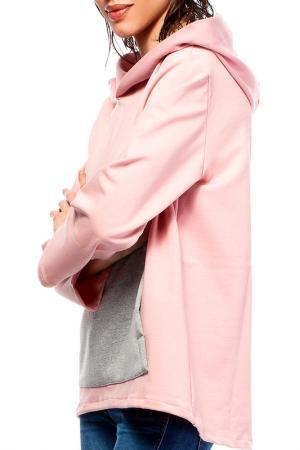 Толстовка BeWear. Цвет: розовый