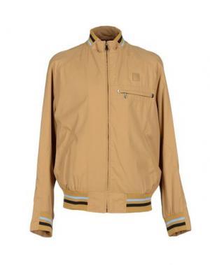 Куртка PIERO GUIDI. Цвет: песочный