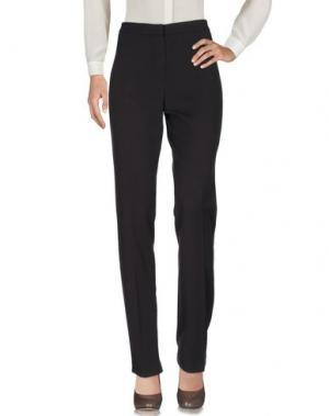 Повседневные брюки LAURA LINDOR. Цвет: темно-коричневый