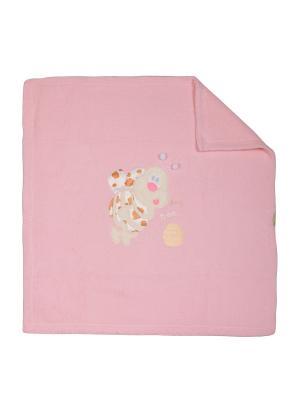 Плед M-BABY. Цвет: розовый, оранжевый