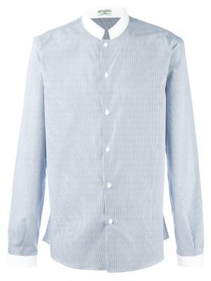 Рубашка Officier Éditions M.R. Цвет: синий