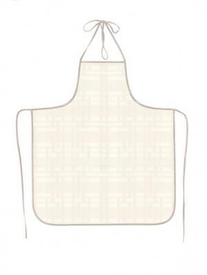 Фартук ПВХ Silk, модель 4 DEKORTEX. Цвет: молочный