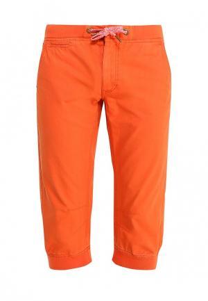 Бриджи oodji. Цвет: оранжевый