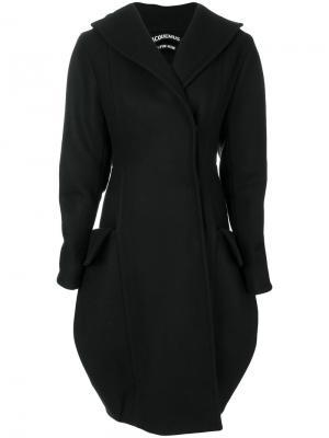 Пальто модели кокон Jacquemus. Цвет: чёрный