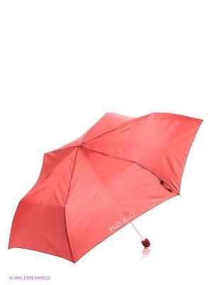 Зонт H.DUE.O. Цвет: бордовый