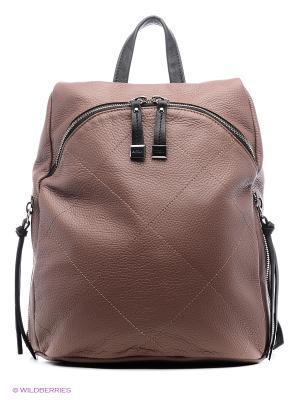 Рюкзак Nicoli. Цвет: коричневый