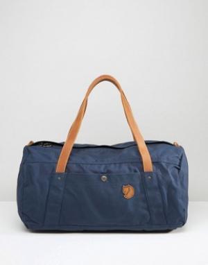 Fjallraven Темно-синяя сумка дафл No. 4. Цвет: темно-синий