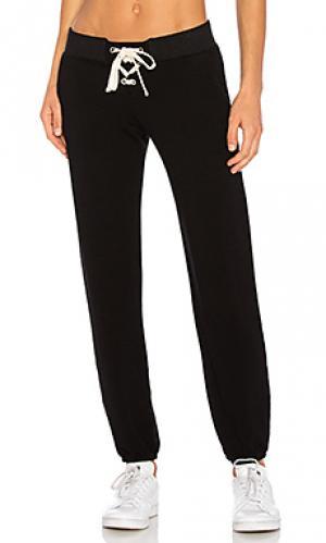 Свободные брюки supersoft MONROW. Цвет: черный