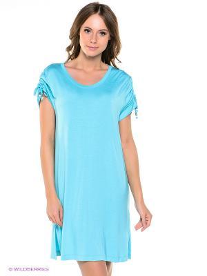 Платье Taubert. Цвет: голубой