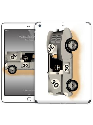 Наклейка на iPad Air Porsche 550 - Dave Murray Gelaskins. Цвет: белый, серый