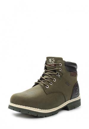 Ботинки Crosby. Цвет: зеленый