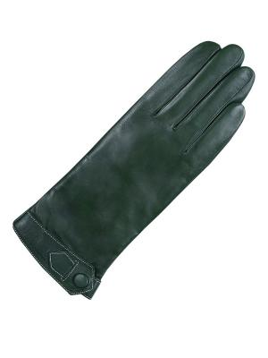 Перчатки ESMEE. Цвет: темно-зеленый