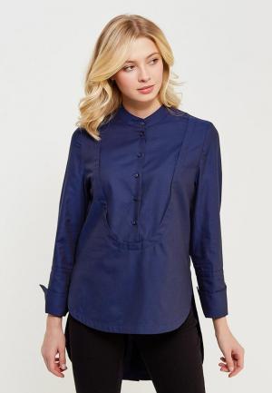 Блуза Parole by Victoria Andreyanova. Цвет: синий