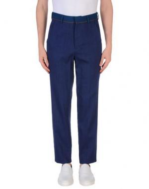 Повседневные брюки UMIT BENAN. Цвет: темно-синий