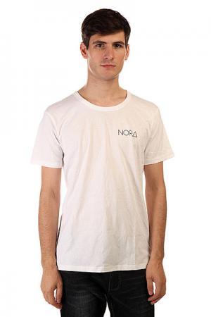 Футболка  Skateboards Logo Tee Shirt White Nord. Цвет: белый