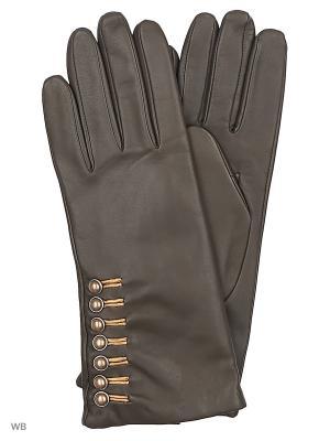 Перчатки Roeckl. Цвет: хаки