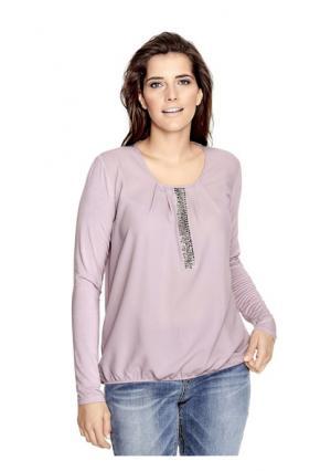 Блузка B.C. BEST CONNECTIONS. Цвет: розовый, серый, экрю
