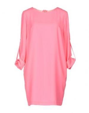 Короткое платье ELLA LUNA. Цвет: фуксия