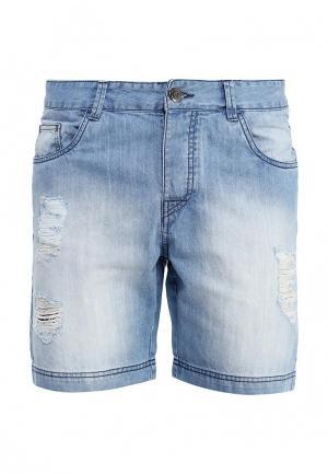 Шорты джинсовые Fresh Brand. Цвет: голубой