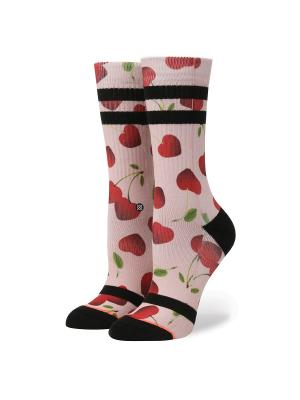 Носки ж RESERVE WOMENS CHERRY BOMB (SS17) Stance. Цвет: черный, красный, розовый