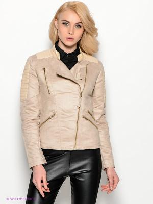 Куртка Ada Gatti. Цвет: бежевый