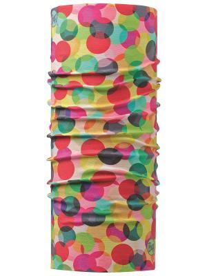 Бандана BUFF Original BLOBS. Цвет: красный, желтый, зеленый, розовый