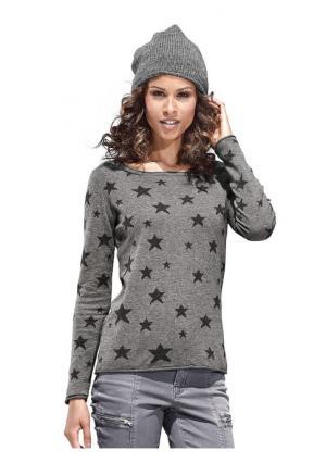 Пуловер B.C. BEST CONNECTIONS. Цвет: розовый, серый, черный