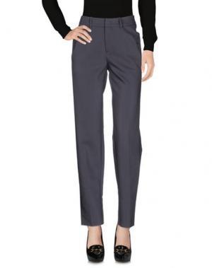 Повседневные брюки YAYA. Цвет: серый