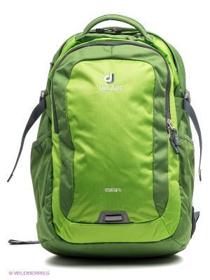 Рюкзак Deuter. Цвет: салатовый, зеленый
