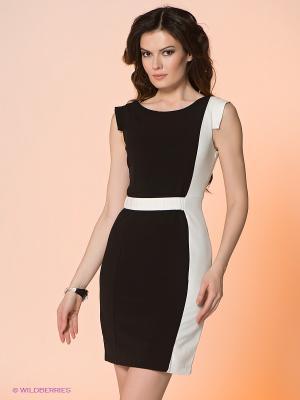 Платье Viaggio. Цвет: черный, белый
