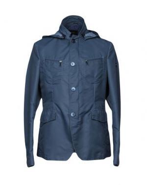 Куртка CALVARESI. Цвет: грифельно-синий