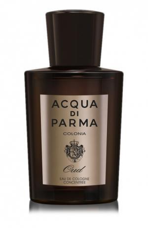 Одеколон Oud Acqua di Parma. Цвет: бесцветный