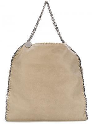 Большая сумка-тоут Falabella Stella McCartney. Цвет: телесный
