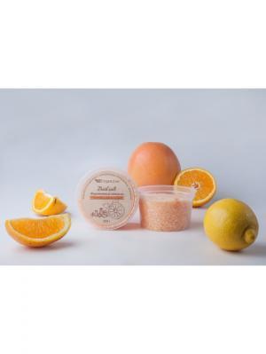Морская соль для ванн Марокканский апельсин OrganicZone. Цвет: светло-оранжевый