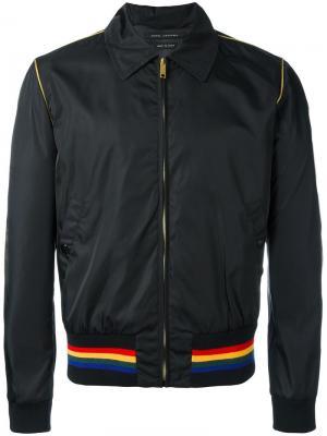 Куртка на молнии Marc Jacobs. Цвет: чёрный