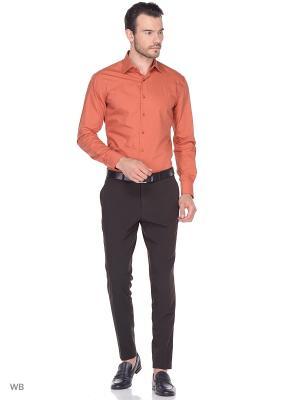 Рубашка Fayzoff-SA. Цвет: оранжевый