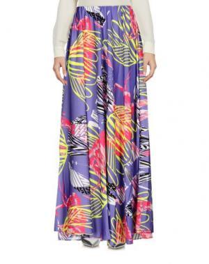 Длинная юбка F**K PROJECT. Цвет: фиолетовый