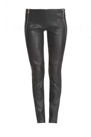 Кожаные брюки 156506 Jitrois. Цвет: черный