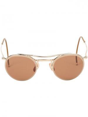 Солнцезащитные очки Time Worn Hakusan. Цвет: коричневый