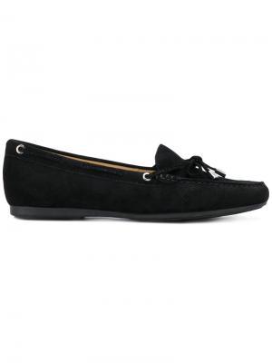 Лоферы со шнуровкой Michael Kors. Цвет: чёрный