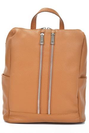 Рюкзак MANGOTTI BAGS. Цвет: cognac